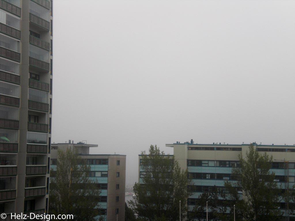 Dichter Nebel Richtung Haapaniemenranta