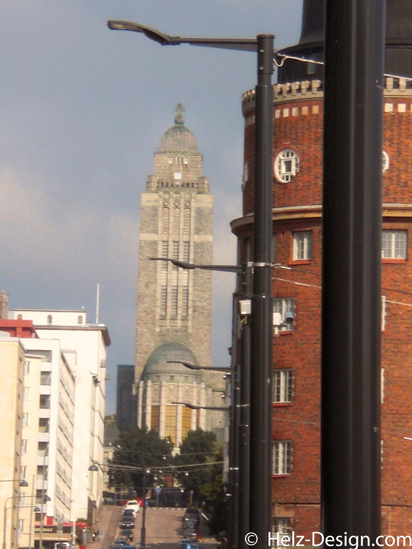 Kallio kirkko von der Siltasaarenkatu gesehen