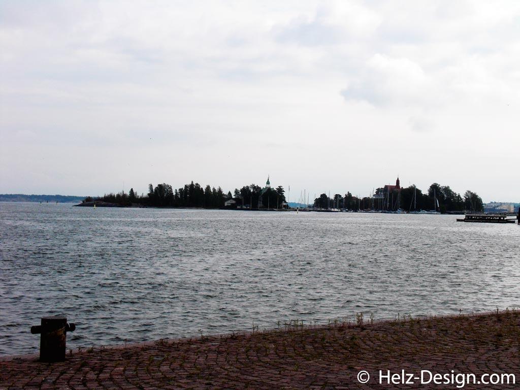 Blick nach Valkosaari (rechts)