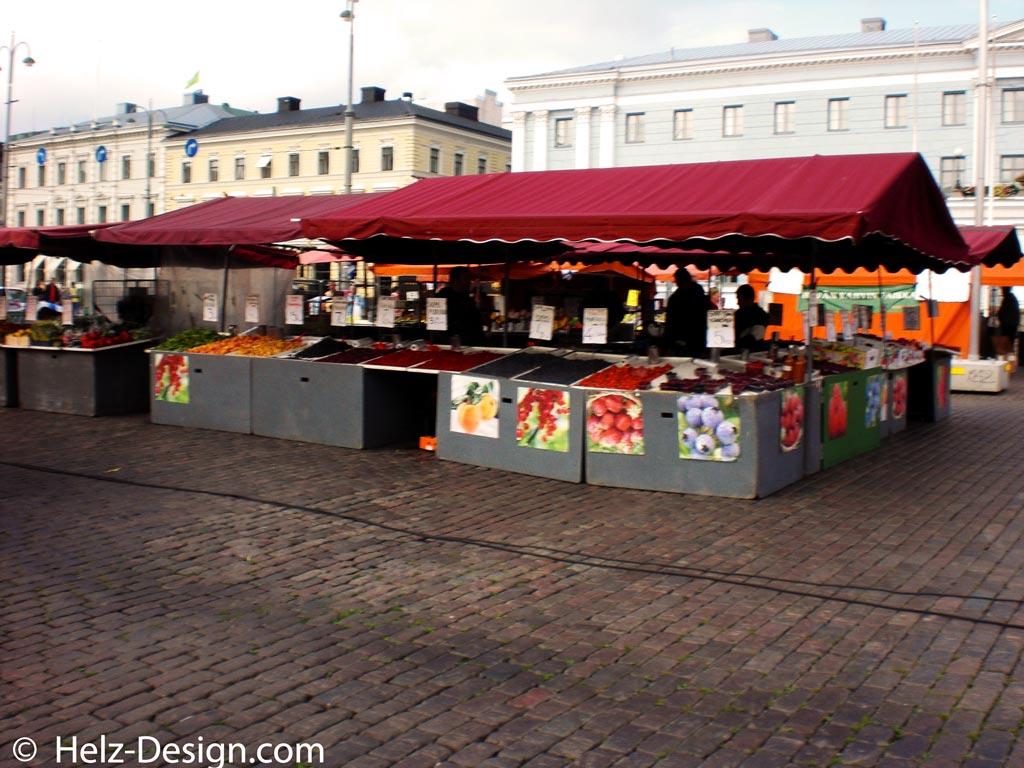 Kauppatori – Fruchtstiegen