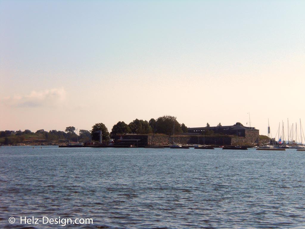 Blick zur Suomenlinna