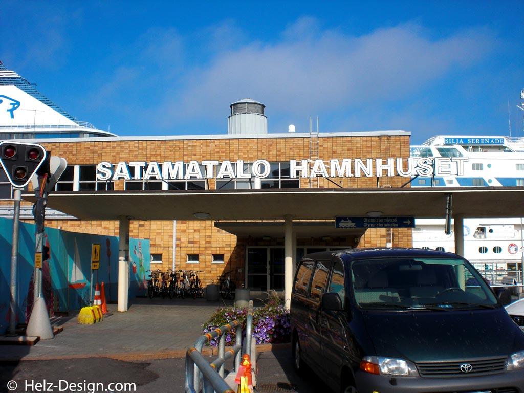 Satamatalo –Hafengebäude