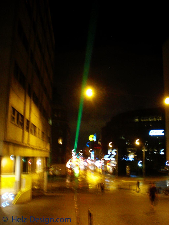 Grüner Laser in Kallio