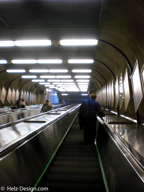 Rolltreppe Metroasema Kamppi