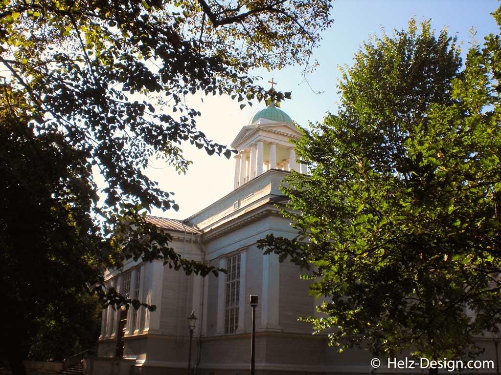 Kirche im Vanha kirkkopuisto