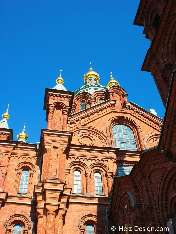 Blick an der Kathedrale hoch