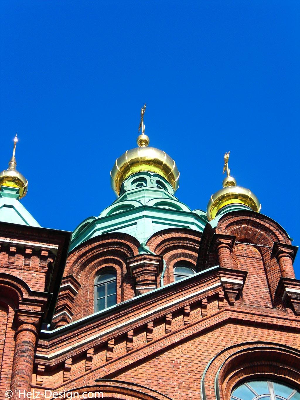 Dachdetail … wunderschön das Gold auf den Türmen