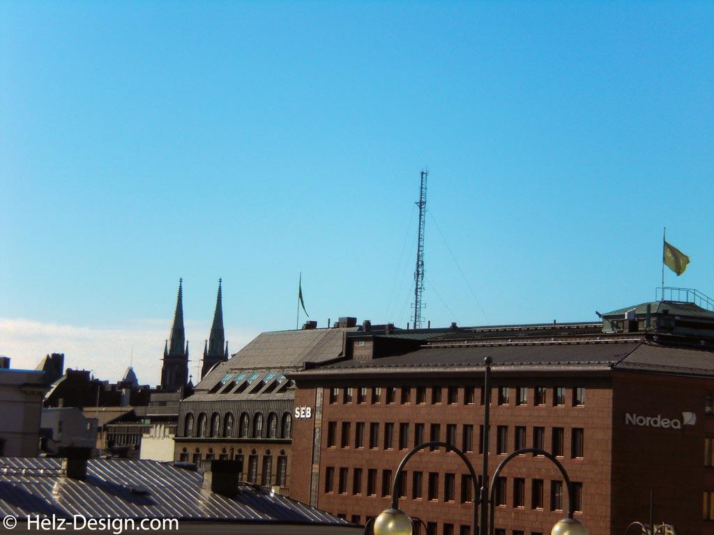Blick von der Tuomiokirkko über Helsinki