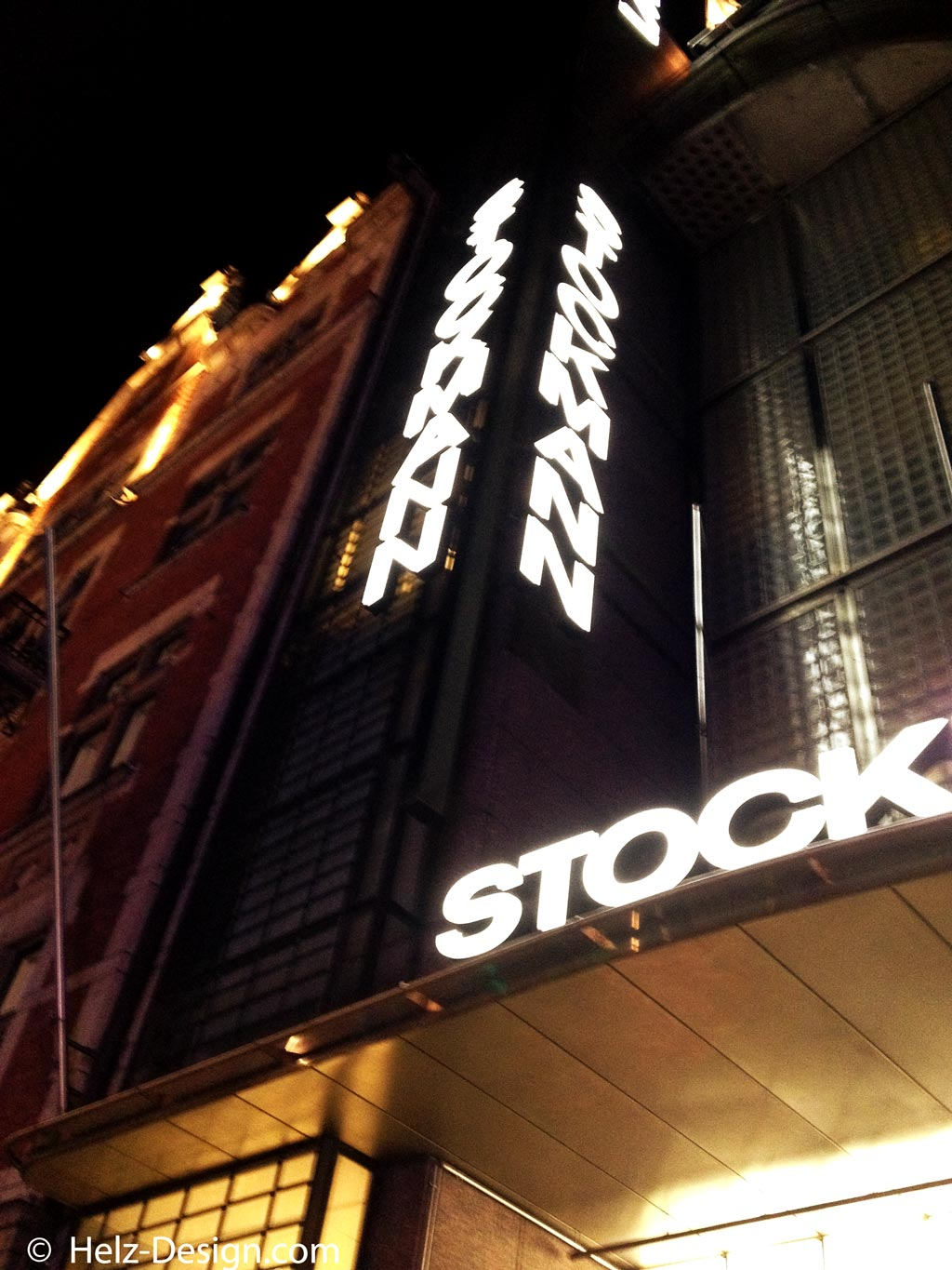 Stockman by night