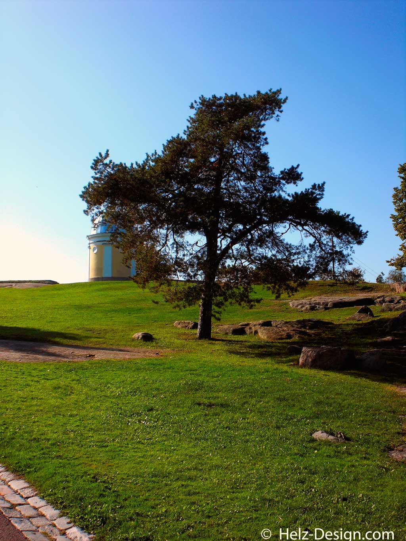 Anstieg zum Observatorium