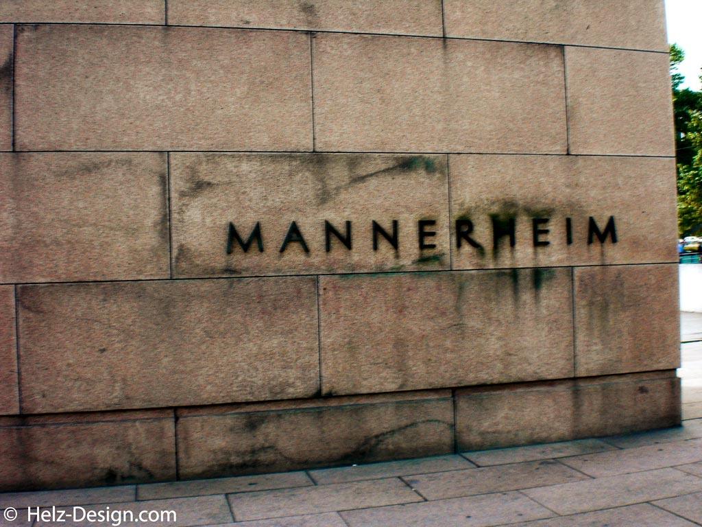 Marsalkka Mannerheimin – stimmt isser