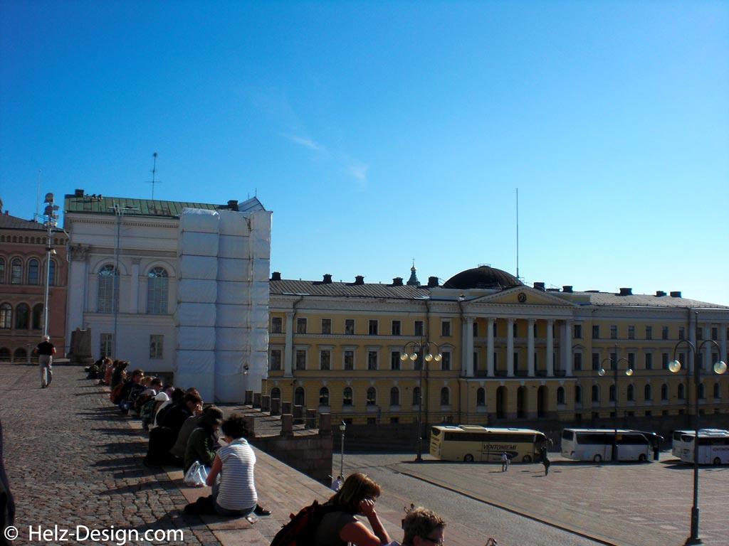 Valtioneuvoston Kanslia – Prime Minister's Office –Senatsgebäude