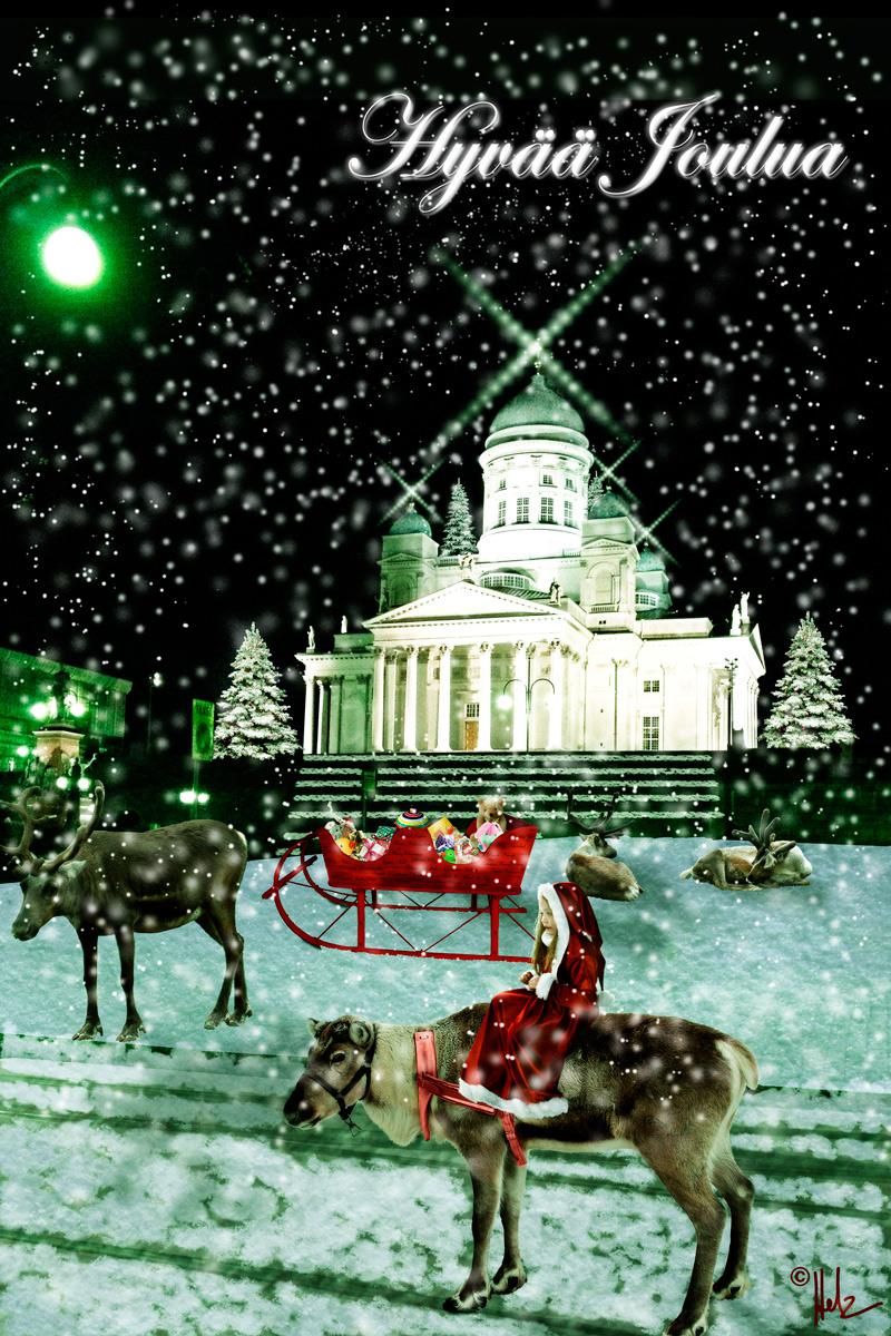 Hyvää Joulua …Frohe Weihnachten …Merry Christmas