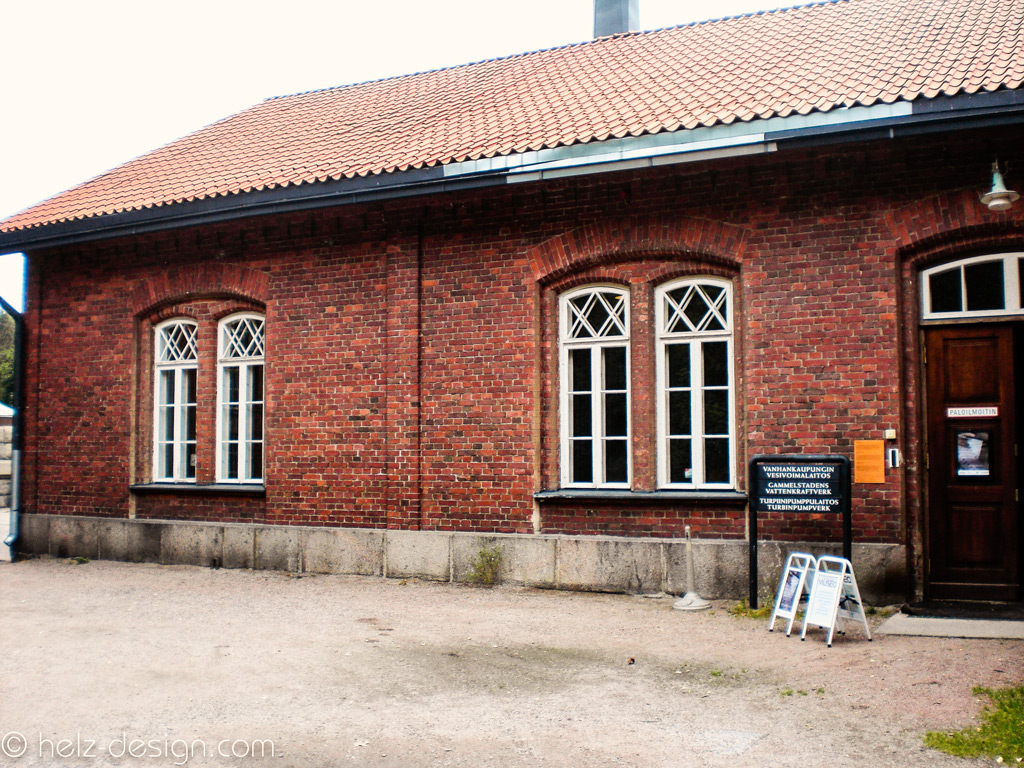 Eingangsgebäude