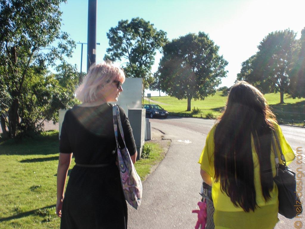 Saara & Sanna-Leena … hat sie nicht tolle lange Haare?