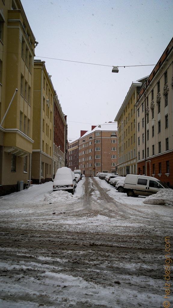Fredrikinkatu – Links in derm Haus war ich mal auf einer Party
