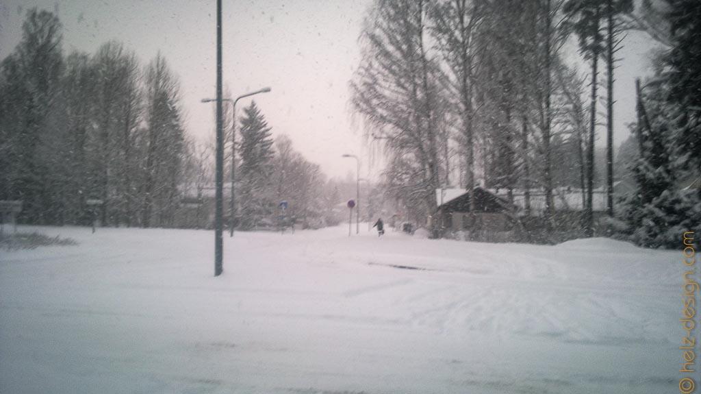 Es schneit ohne Unterlass