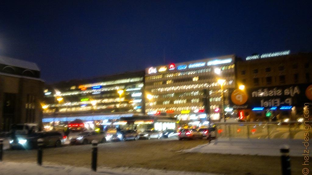 Etwas blurrige City