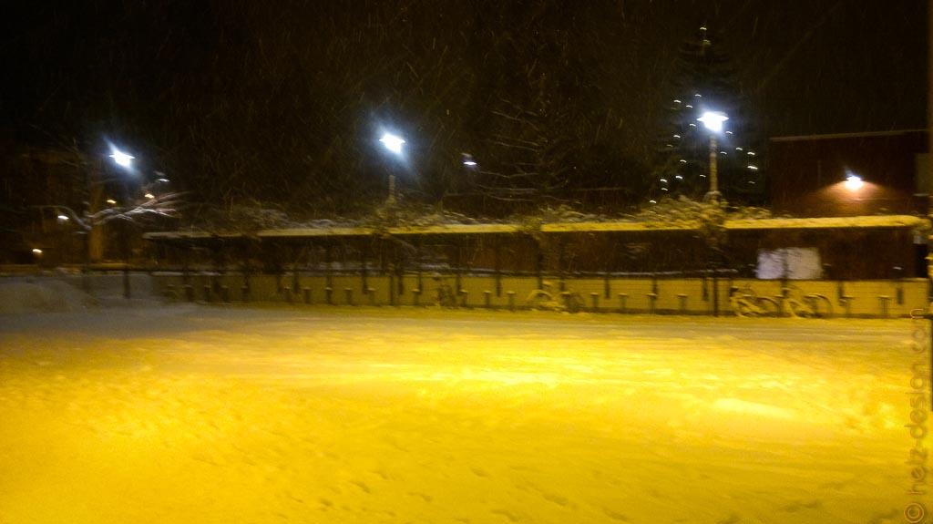 Viel Schnee in Puotila