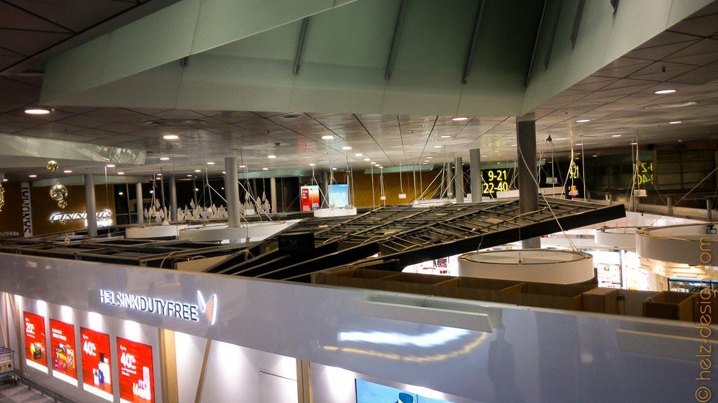 Shops ohne Dächer