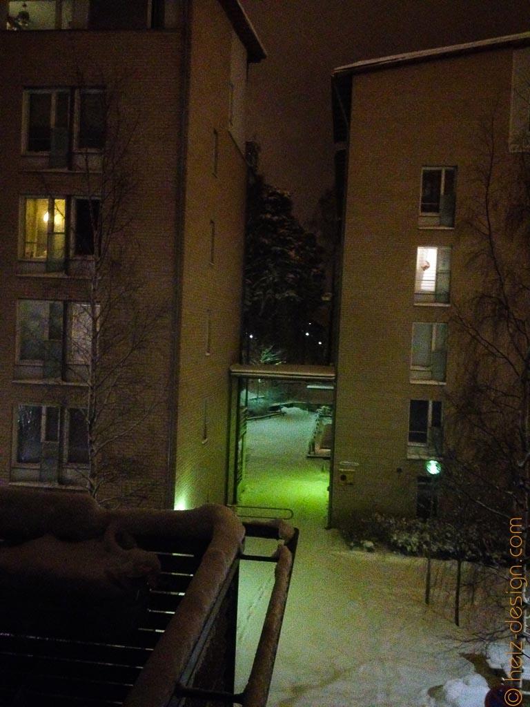 Mitten in der Nacht in Puotila