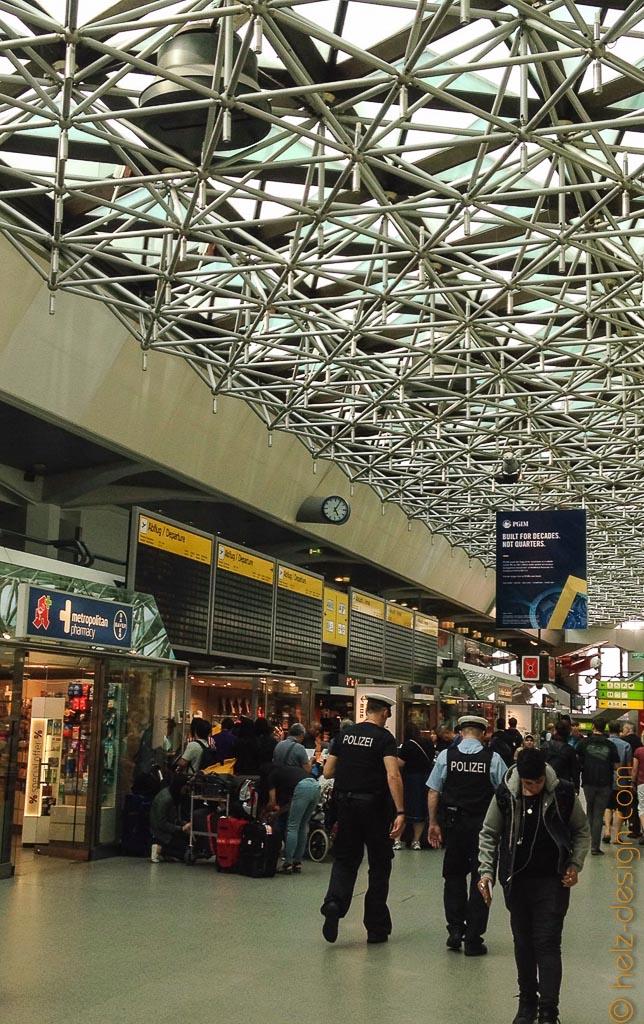 Terminal A – Hauptgebäude Berlin-Tegel