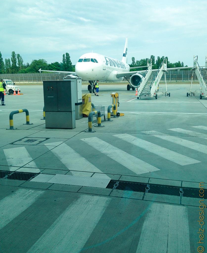 Das Flugzeug wartet schon … Finnair