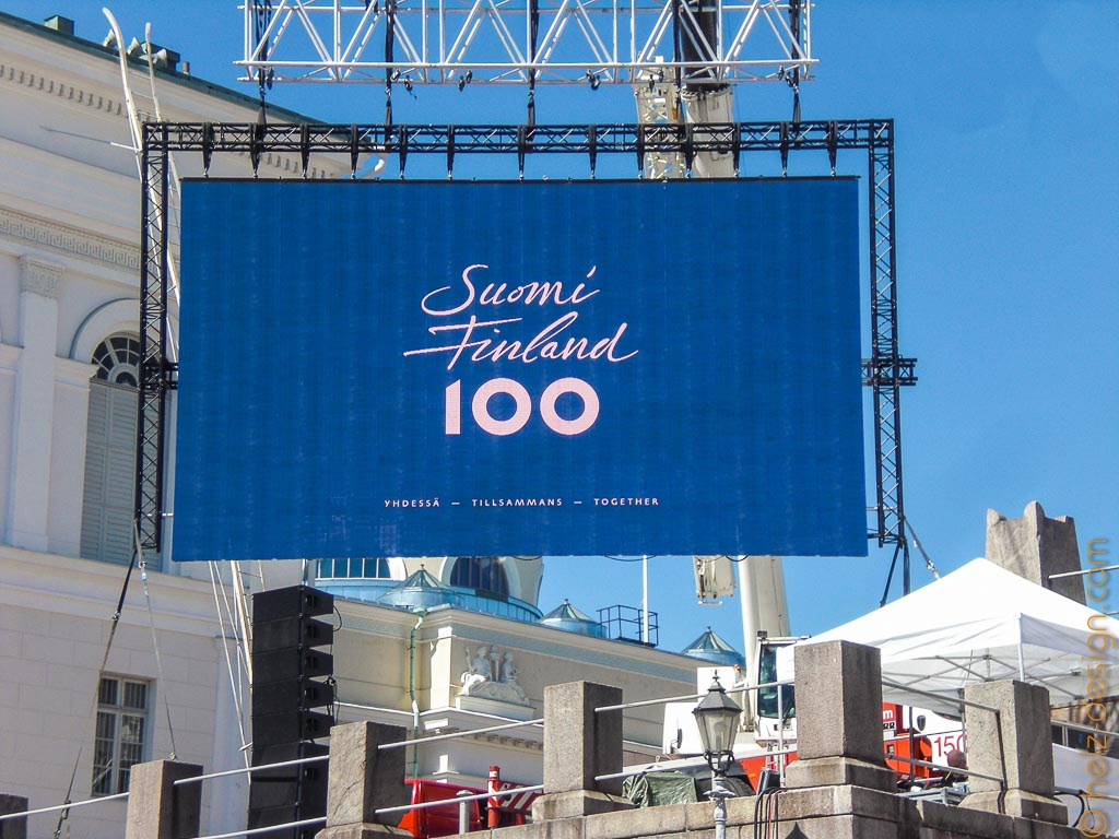 Suomi 100 – Übertragung der Show