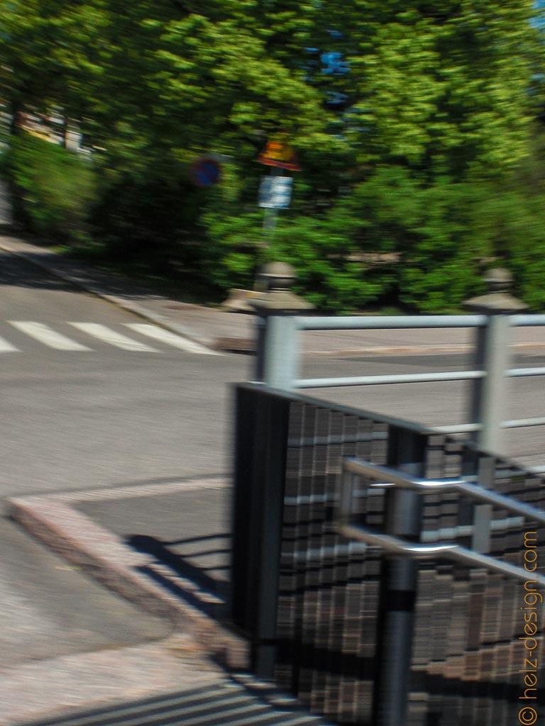 Abstieg von der Merikatu zum Parkplatz