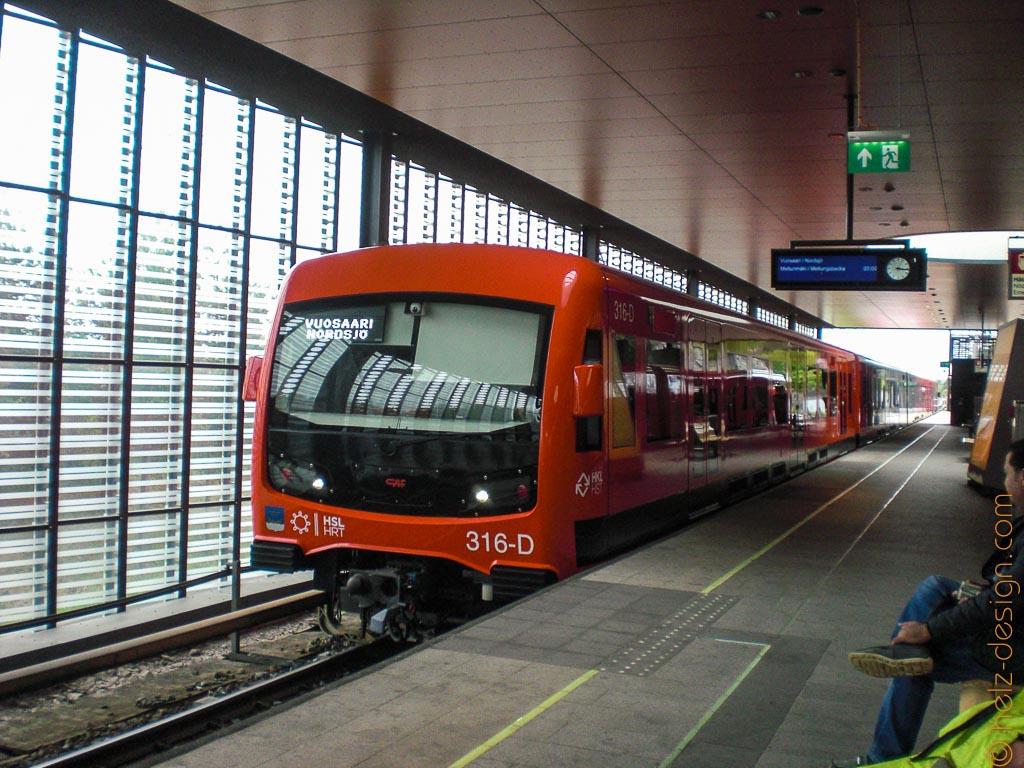 Metro nach Vuosaari