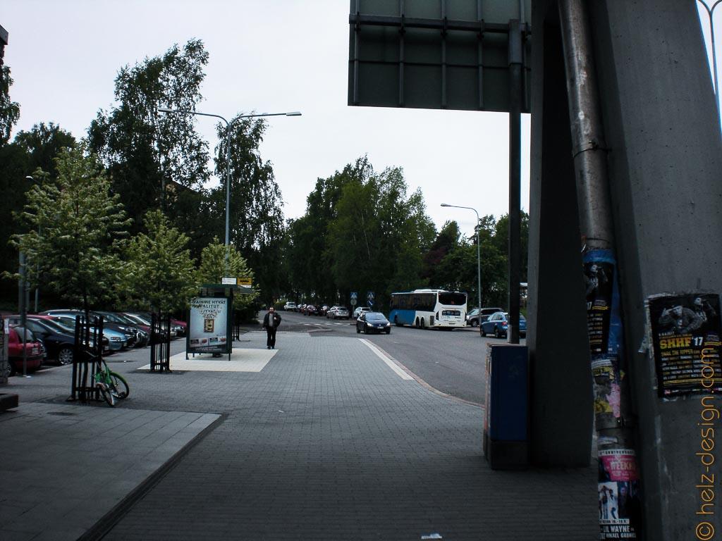 Bushaltestelle an der Siilitie
