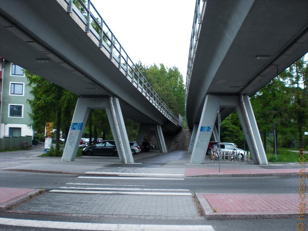 Autobahnbrücke Siilitie