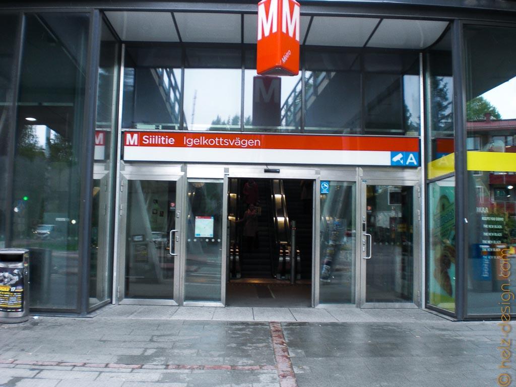 Metroasema Siilitie