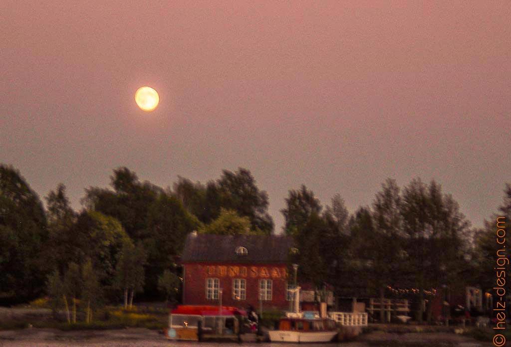 Der Mond über Uunisaari