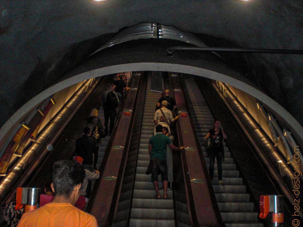 Metrorolltreppe Kamppi