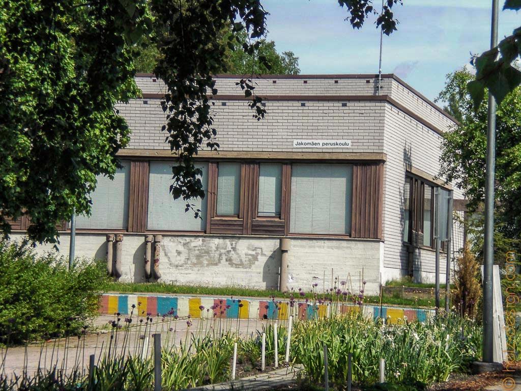 Jugendzentrum und Grundschule
