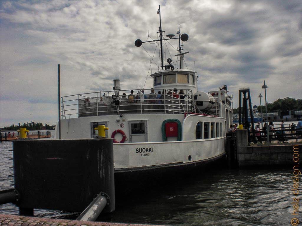 Fähre zur Suomenlinna