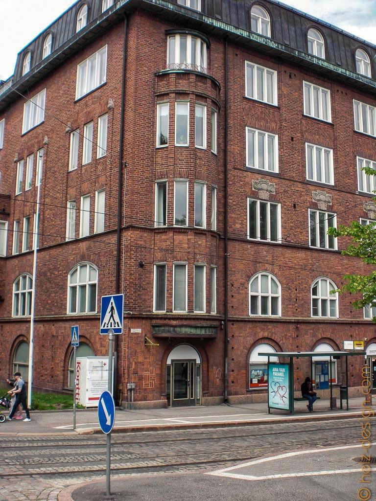 Tehtaankatu / finnisches Rotes Kreuz