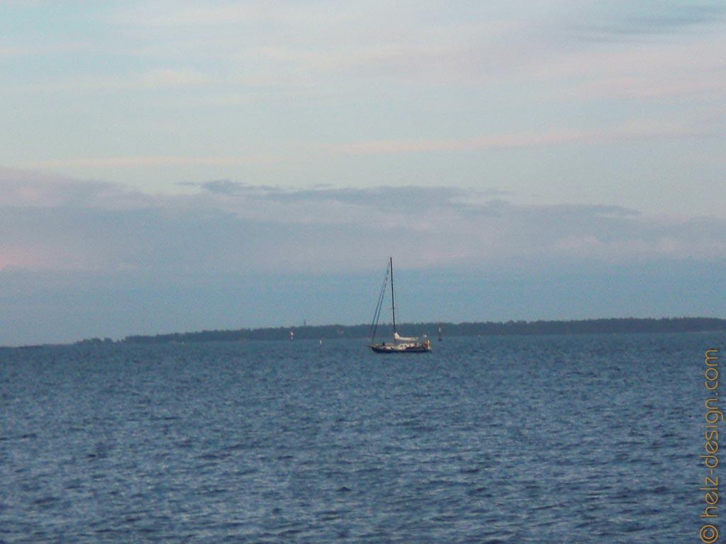 Abendliche Bootsrunden