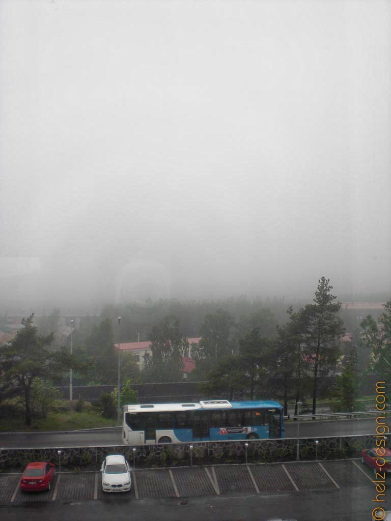 Nebel in Jakomäki
