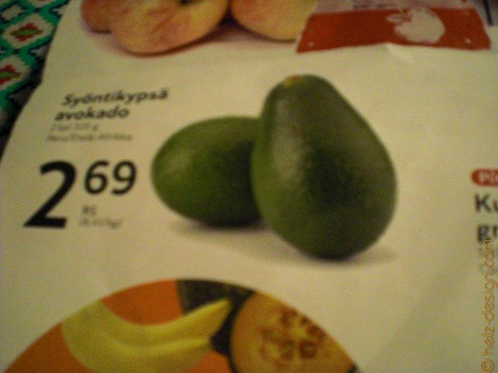 Avocado wird im Kilo verkauft