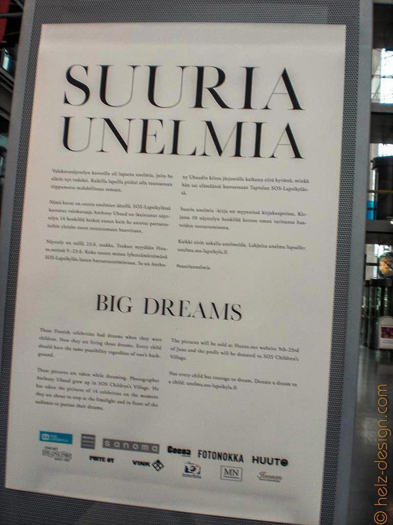 Ausstellung Suuria Unelmia