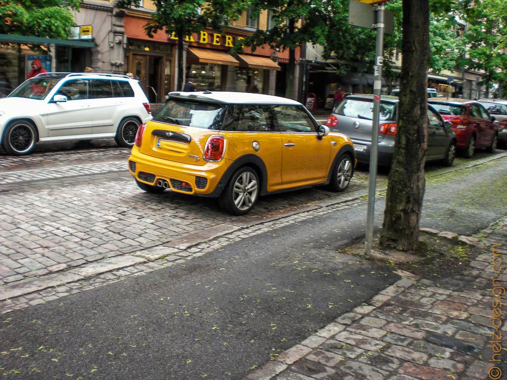 Orange and the City am Bulevardi