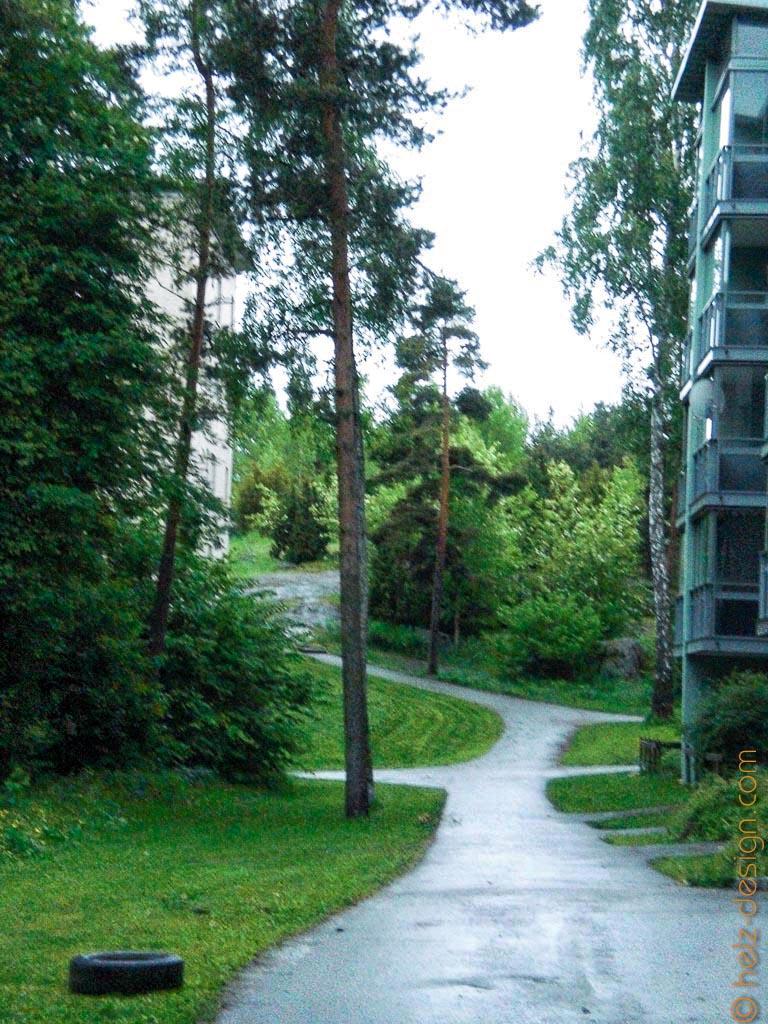 SIedlung in Jakomäki