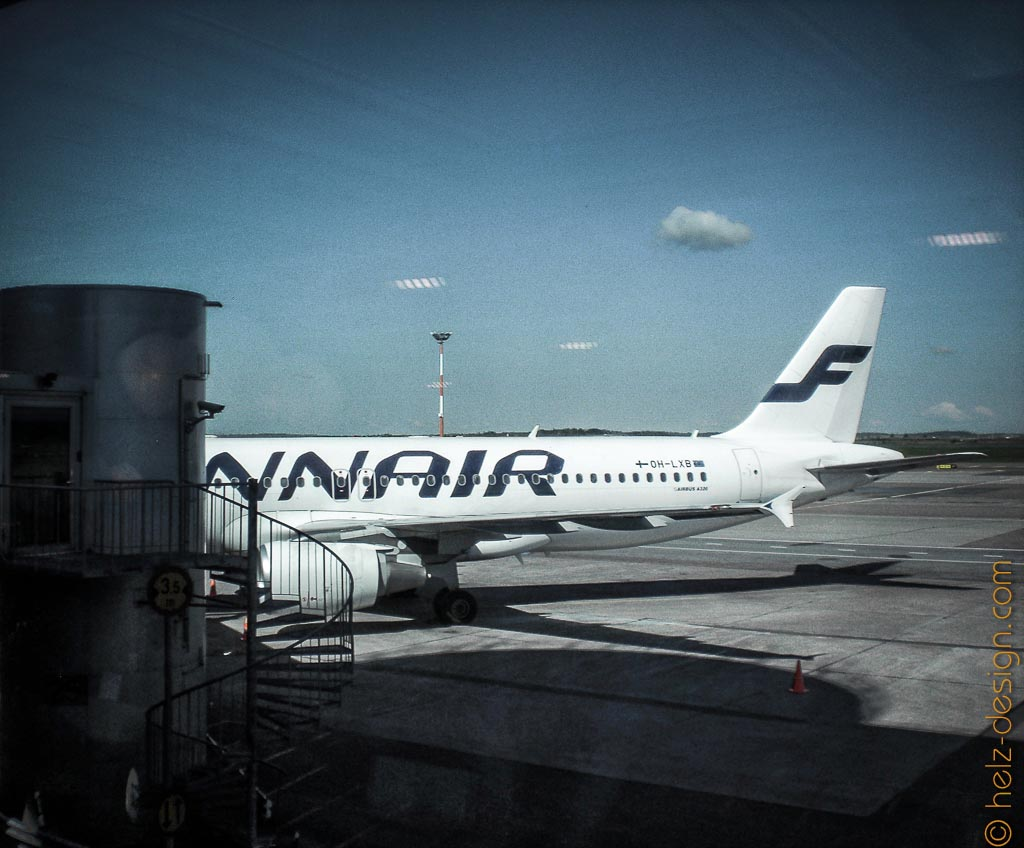 Finnair in Parkposition