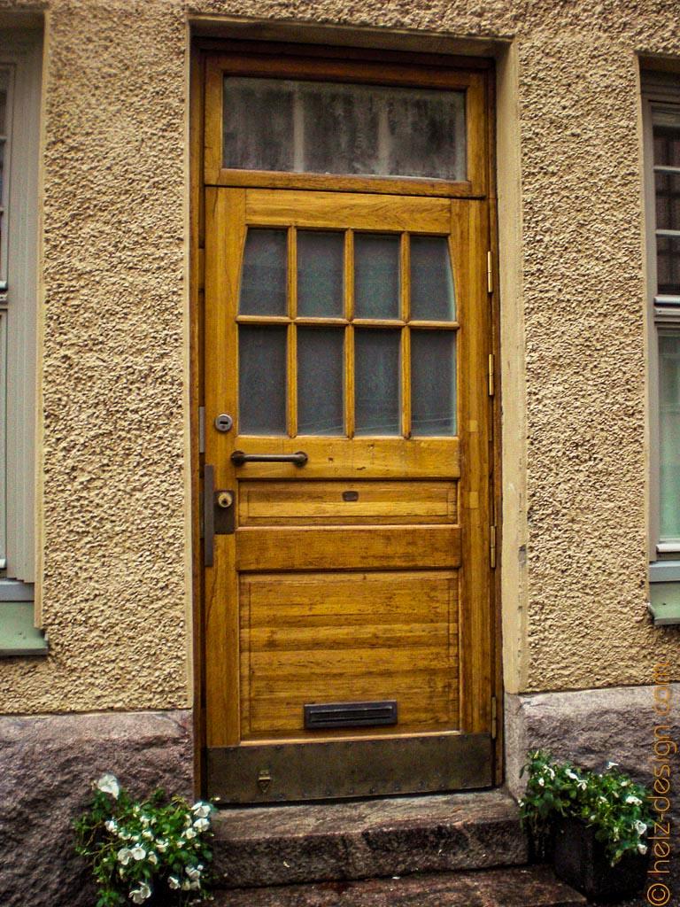 Wieder eine Tür unter der Rubrik: Doors of Helsinki