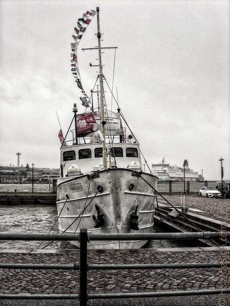 Boot im Eteläsatama