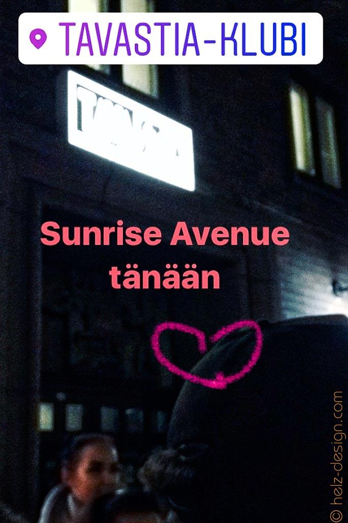 Sunrise Avenue tänään