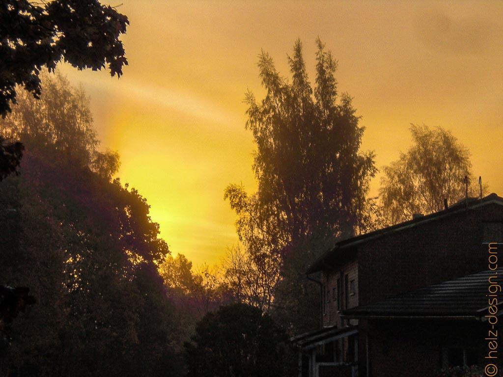 Sonnenaufgang über der Mikkolantie