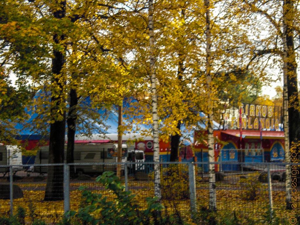 Zirkus am Kaisainiemenpuisto